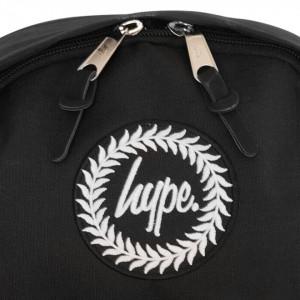 Hype zaino nero reflective