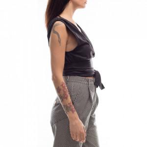 jijil-woman-silk-top-black