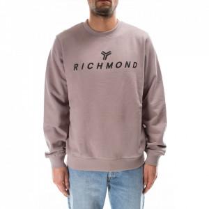 John Richmond felpa uomo grigio