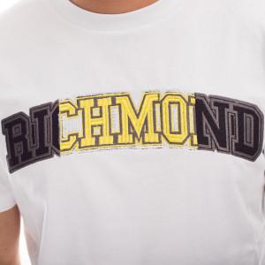 john-richmond-white-logo-t-shirt
