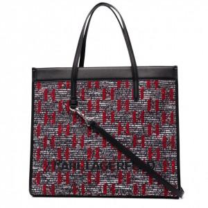 Karl Lagerfeld borsa shopper Skuare bouclè