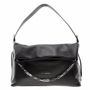 Karl Lagerfeld soft black bag