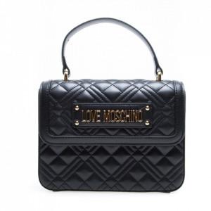 Love Moschino black rigid handbag