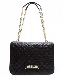 Love Moschino large quilted shoulder bag