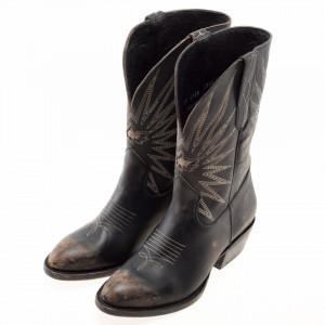 Mezcalero stivali texani alti vintage