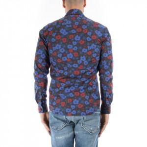 Minimum camicia floreale da uomo