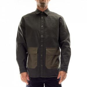 Minimum camicia uomo verde militare