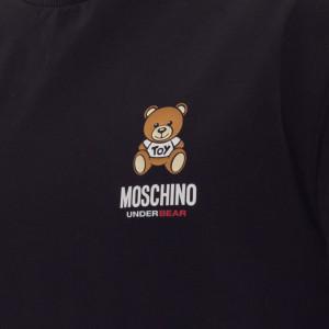 Moschino-felpa-nera-uomo-orsetto