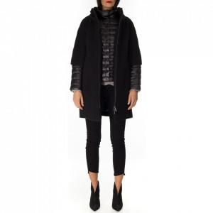 NoSecret cappotto con piumino nero