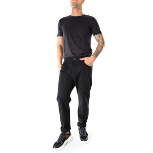 OUTFIT jeans nero uomo