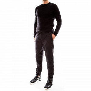Outfit pantalone classico grigio scuro