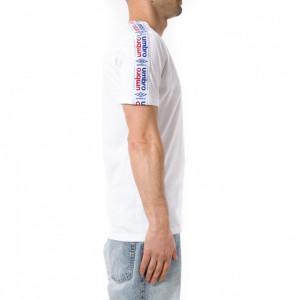 Umbro t shirt sportiva uomo bianca