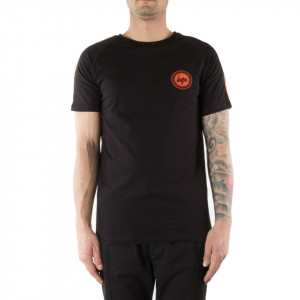 Hype tshirt nera manica corta