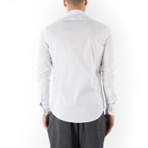 Camicia slim fit uomo bianca Outfit