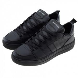 Crime-london-sneakers-basse-total-black