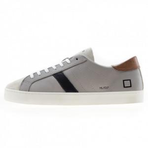 Date sneakers basse grigie uomo hill low