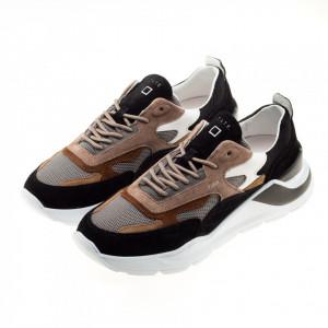 date-sneakers-running-fuga-marrone