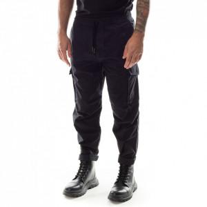 Edwin pantalone cargo militare nero