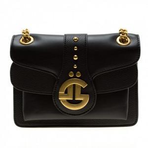 Gaelle borsa piccola nera con catena