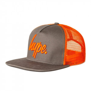 Hype trucker grigio e arancione