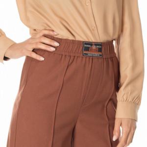 Isabelle-Blanche-pantalone-a-palazzo-marrone