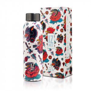 IZmee Wild Ink steel bottle