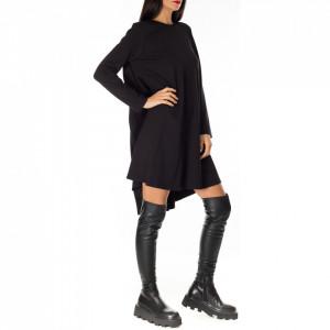 abito-corto-elegante-nero