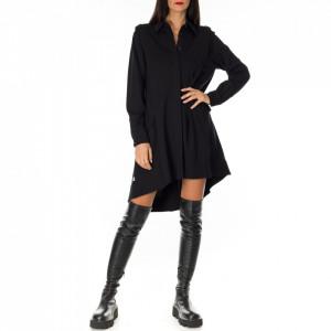 Jijil black shirt dress