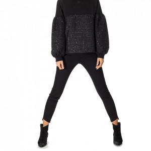 Karl Lagerfeld felpa con cappuccio boucle