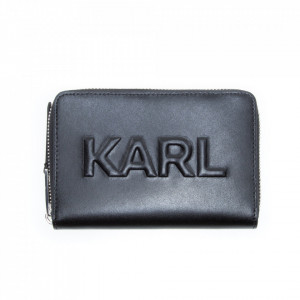 Karl Lagerfeld portafoglio con zip