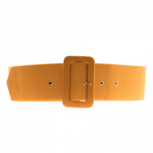 Marc Ellis yellow waist belt