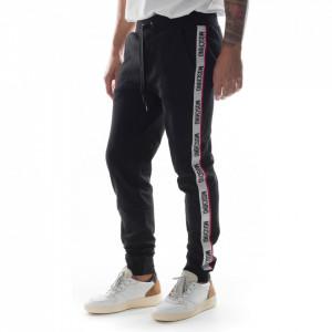 Moschino pantalone tuta bande logate