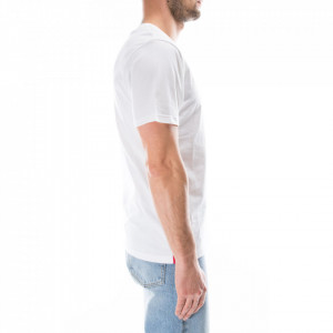 moschino-tshirt-bianca-stripe-logo
