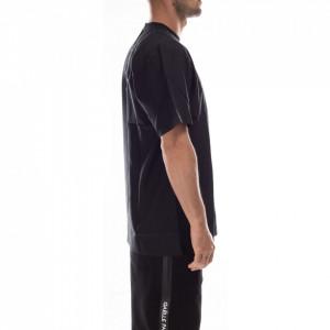 Numero-00-t-shirt-girocollo-nera