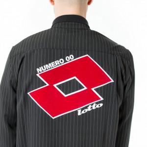 Numero 00 x lotto camicia over gessata