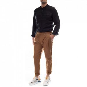 Outfit pantalone chino cacao