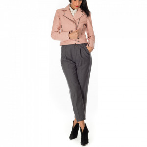 Pinko jacket in pink leather