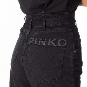 pinko-high-waist-denim-black