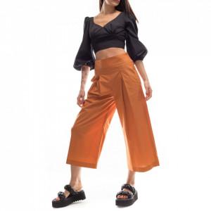 Pinko pantalone gaucho marrone