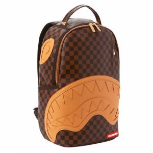 sprayground-henny-checkered-backpack