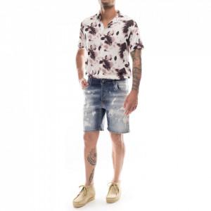 Studio Homme bermuda in jeans chiaro