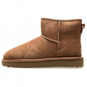 UGG stivali mini classic marroni