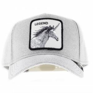 Goorin bros cappello visiera trucker unicorno glitter