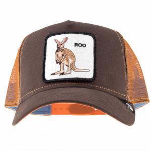Goorin bros cappello trucker canguro marrone