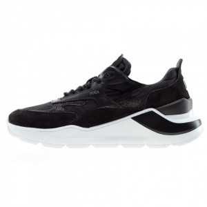 Date sneakers running donna Fuga nere