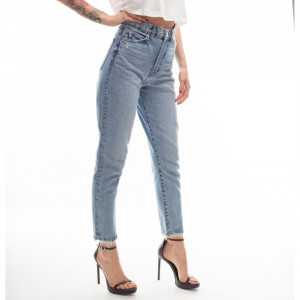 Dr Denim high waist ripped jeans