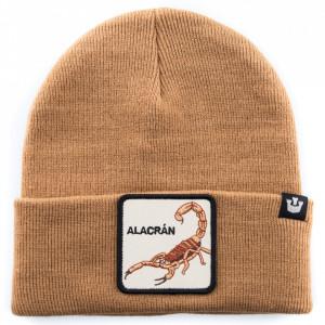 Goorin cappello in lana beige scorpione