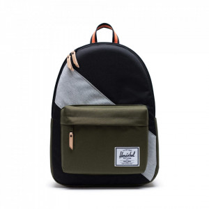 Herschel Classic X-Large green and black backpack