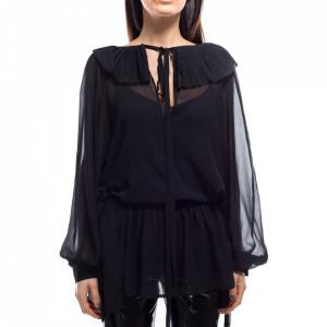 Jijil blusa lunga donna nera