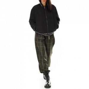 Karl Lagerfeld reversible eco-fur bomber jacket